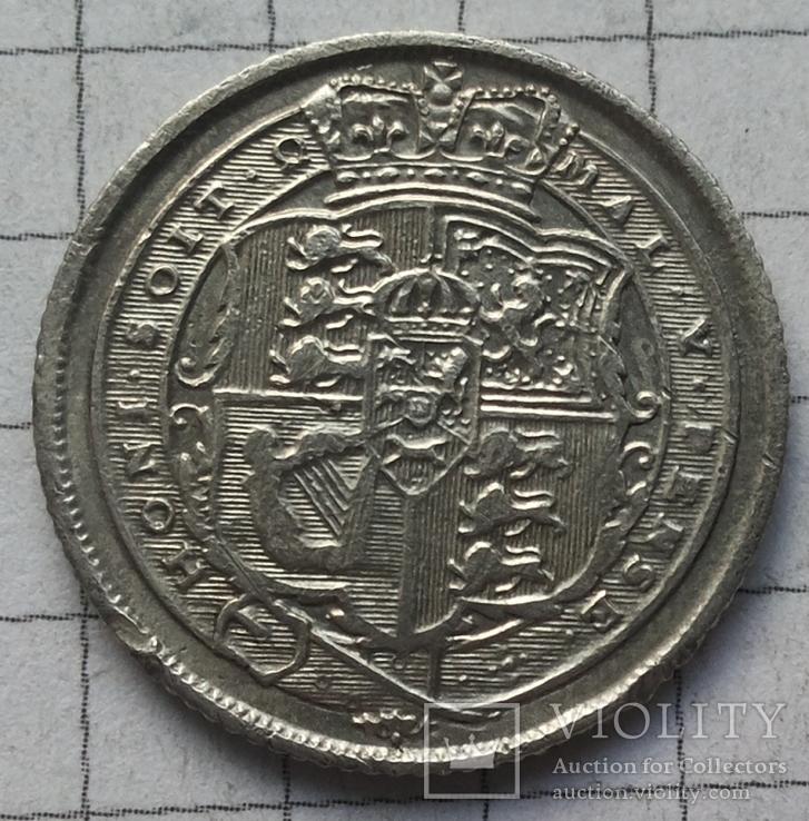 6 пенсов 1817 года