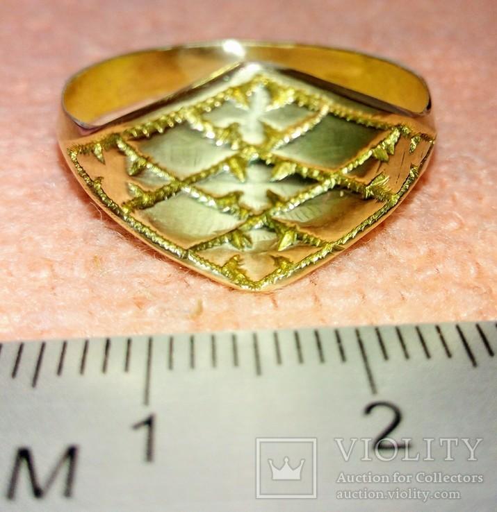 Реплика кольцо КР, фото №2