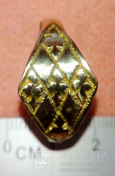 Реплика кольцо КР, фото №6