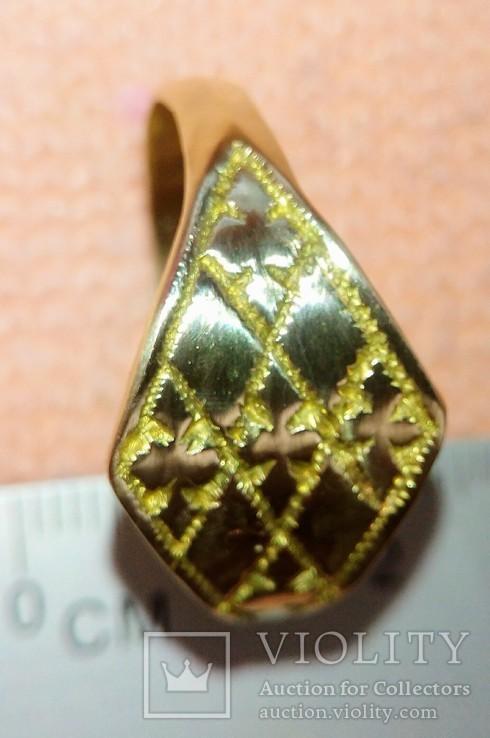 Реплика кольцо КР, фото №7