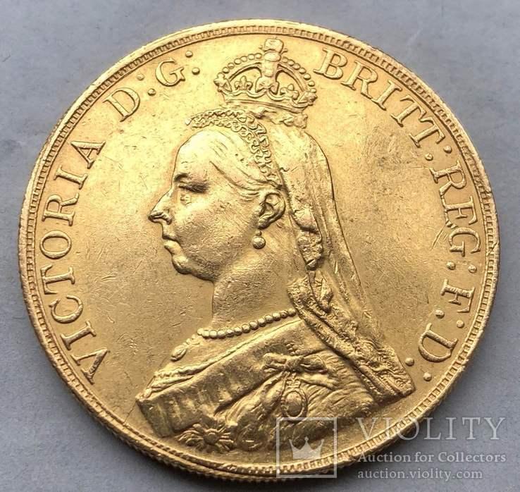 5 фунтов, Великобритания, 1887г.