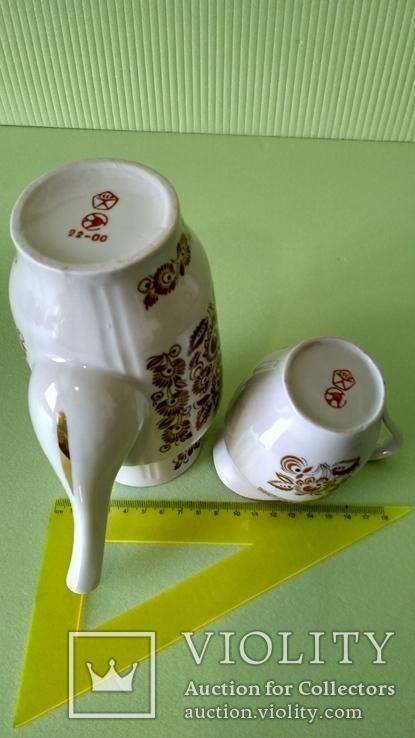 Кофейник и молочник Синельниково, фото №10