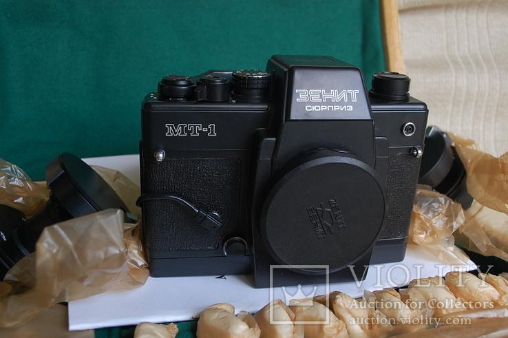 Фотоаппарат Зенит-Сюрприз МТ-1, № 844, первая тысяча, комплект 1984 г, фото №6