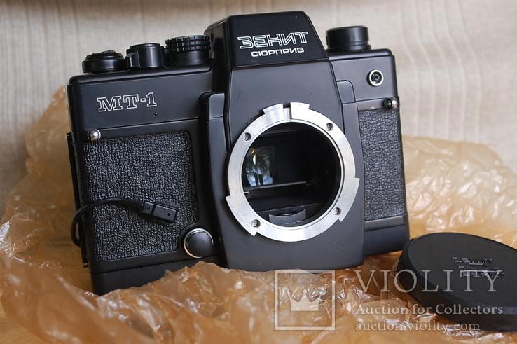 Фотоаппарат Зенит-Сюрприз МТ-1, № 844, первая тысяча, комплект 1984 г, фото №8