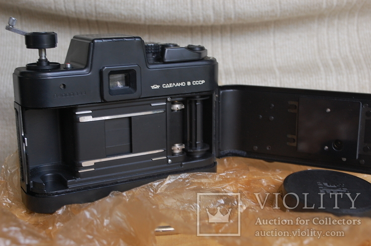 Фотоаппарат Зенит-Сюрприз МТ-1, № 844, первая тысяча, комплект 1984 г, фото №12