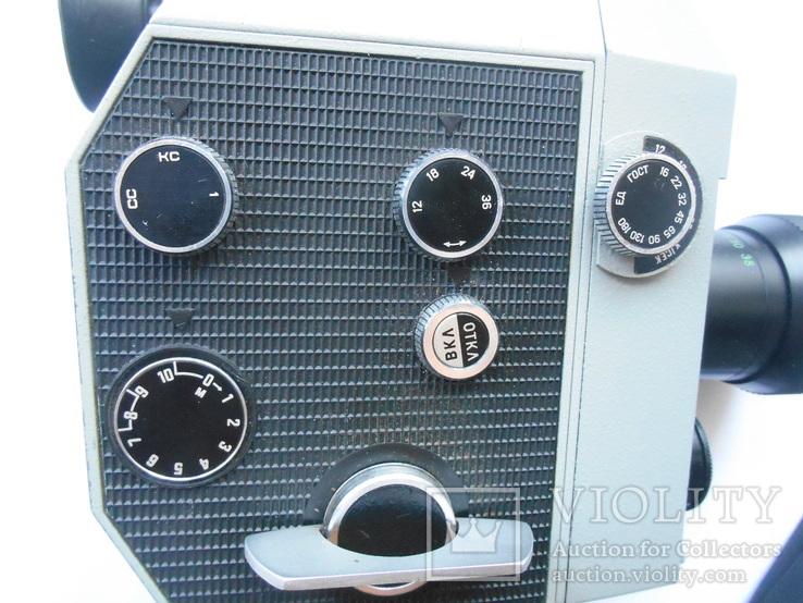 Кинокамера Кварц - 2 *8 С-3., фото №3