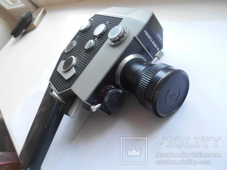 Кинокамера Кварц - 2 *8 С-3., фото №4