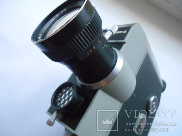 Кинокамера Кварц - 2 *8 С-3., фото №10