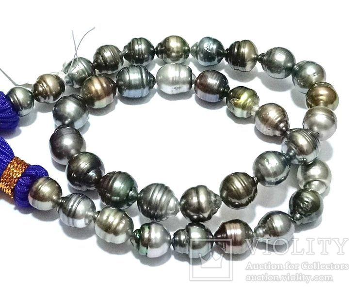 37 натуральных таитянских жемчужин, фото №3