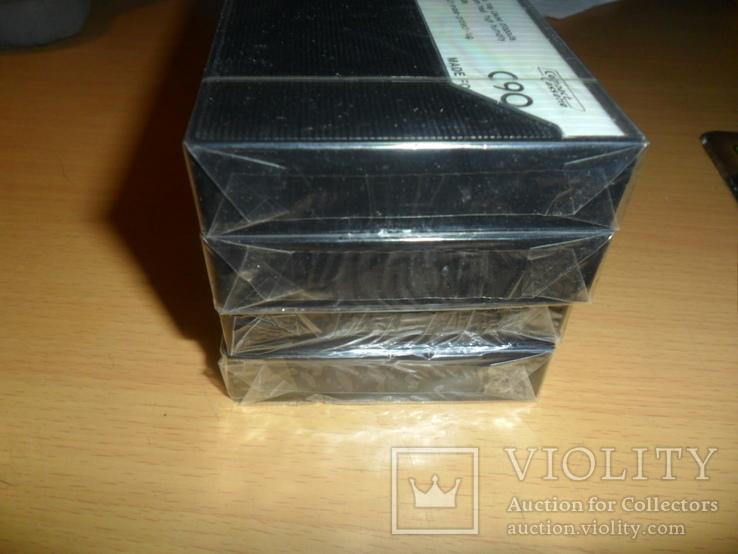 Аудиокассета кассета Новая International ITN C90 - 4 шт в лоте кассеты аудио №2, фото №4