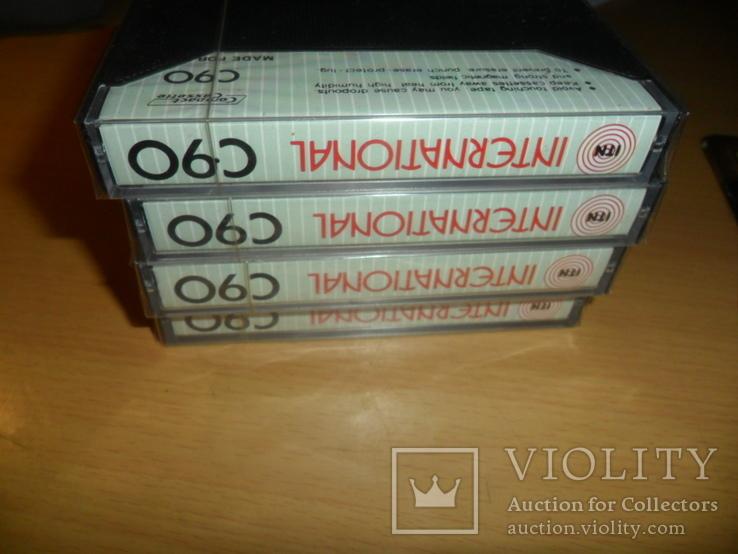 Аудиокассета кассета Новая International ITN C90 - 4 шт в лоте кассеты аудио №2, фото №5