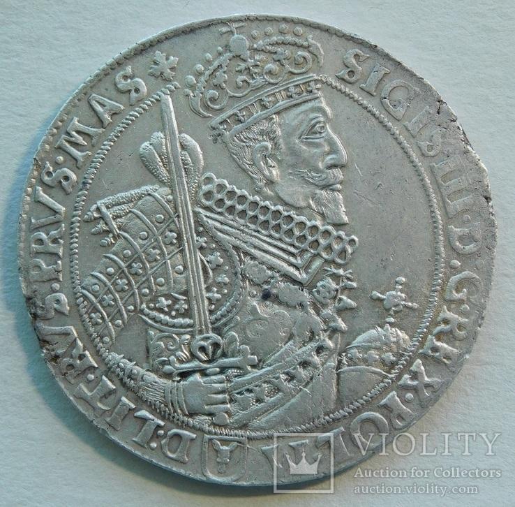 Талер 1628 года Речь Посполитая Быдгощ (Бромберг)