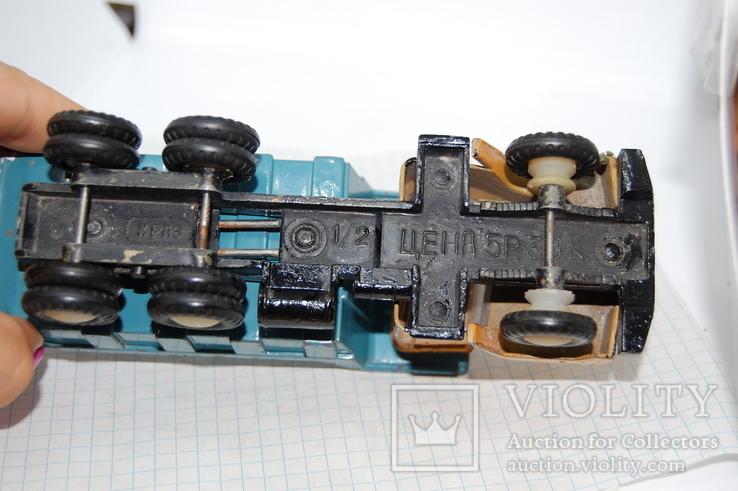 Машинка Краз грузовая. СССР, фото №8