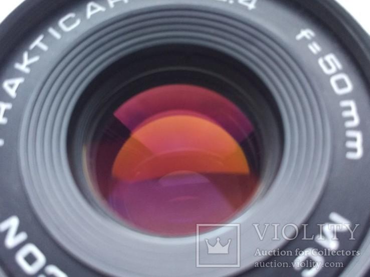 MC Pentacon PRAKTICAR 1:2,4 f=50мм (PB), фото №3