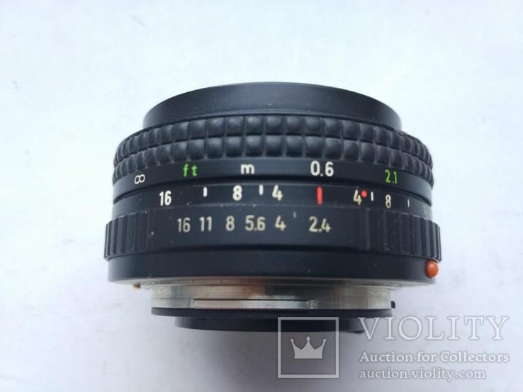 MC Pentacon PRAKTICAR 1:2,4 f=50мм (PB), фото №5