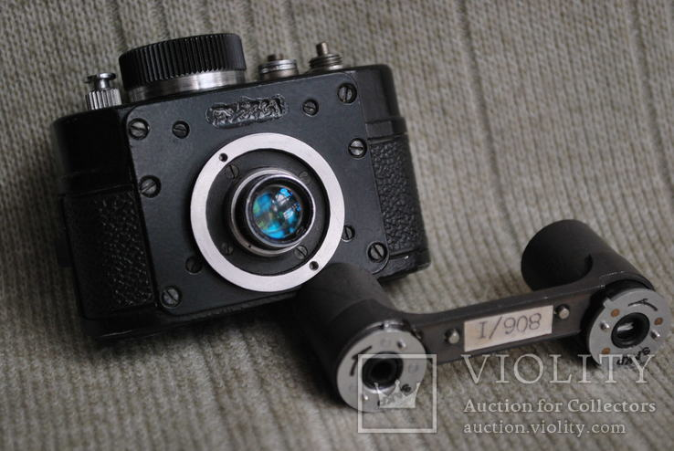 Фотоаппарат АЯКС,( Ф-21), спецтехника, мини формат №5.