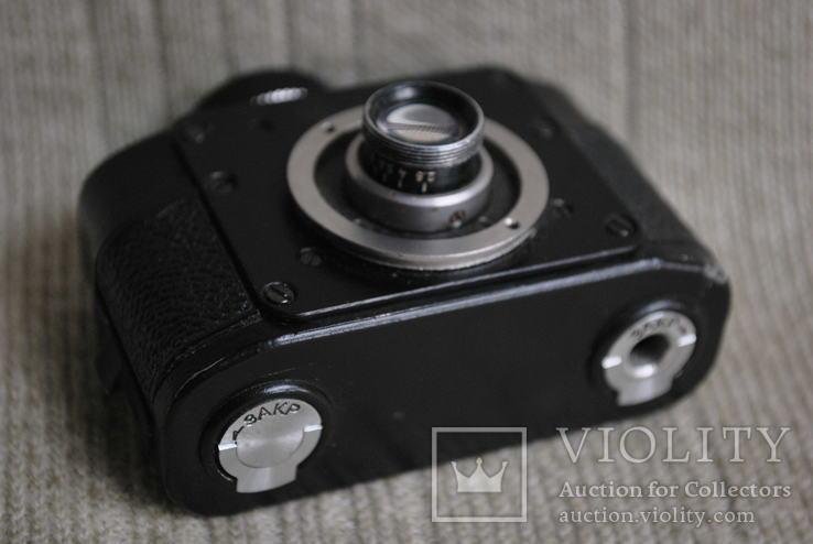 Фотоаппарат АЯКС,( Ф-21), спецтехника, мини формат №5., фото №4