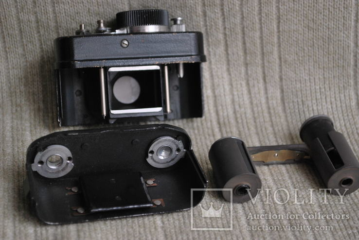 Фотоаппарат АЯКС,( Ф-21), спецтехника, мини формат №5., фото №7