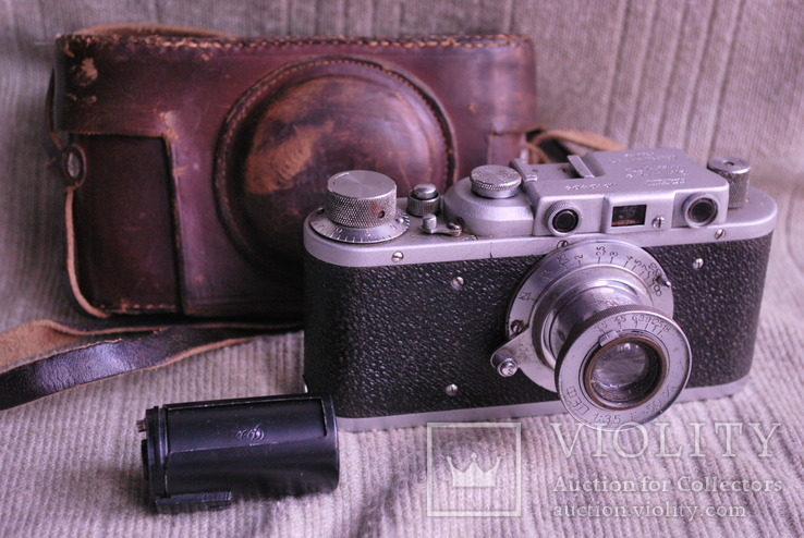 Фотоаппарат ФЭД - НКВД УССР № 19498