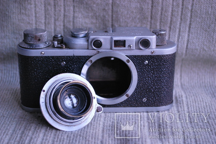 Фотоаппарат ФЭД - НКВД УССР № 19498, фото №9