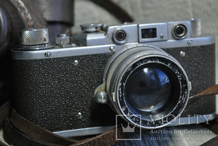 ФЭД Зоркий, 1948 год № 01595, объектив ЗК 1948 год №004452, Красногорский., фото №3