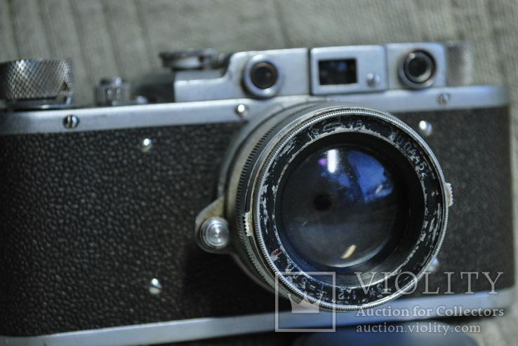 ФЭД Зоркий, 1948 год № 01595, объектив ЗК 1948 год №004452, Красногорский., фото №5