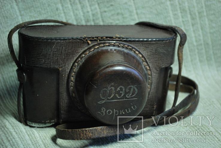 ФЭД Зоркий, 1948 год № 01595, объектив ЗК 1948 год №004452, Красногорский., фото №13