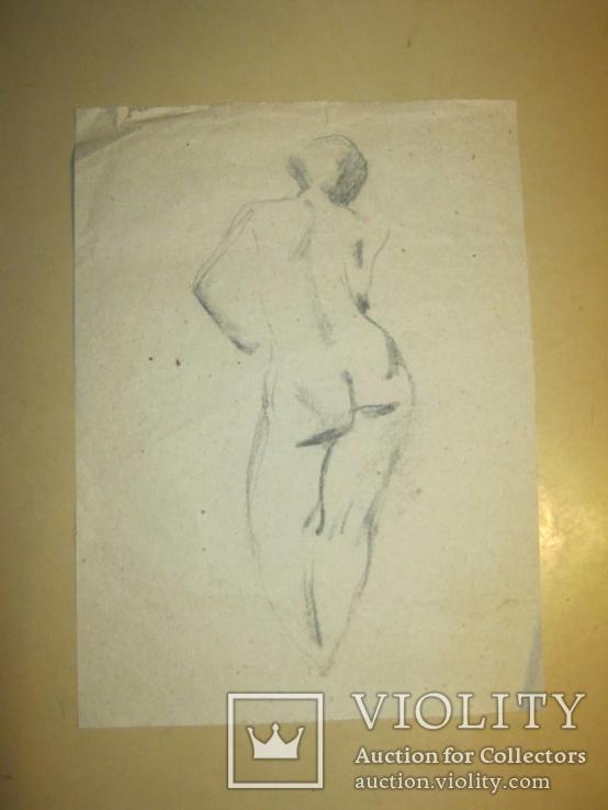 Рисунок Ню, фото №2