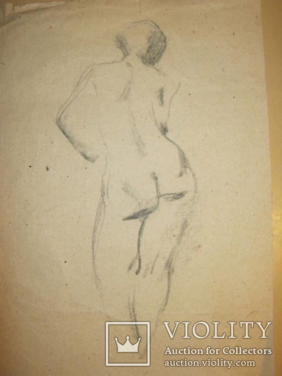 Рисунок Ню, фото №3
