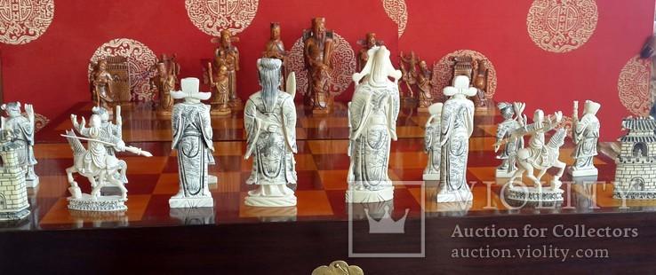 Шахматы Бивень слона., фото №5