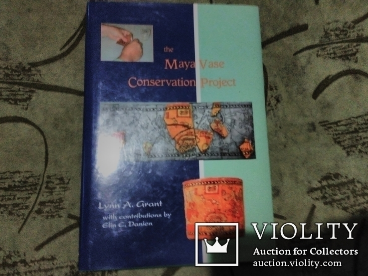 The Maya Vase Conservation Project+CD, фото №2