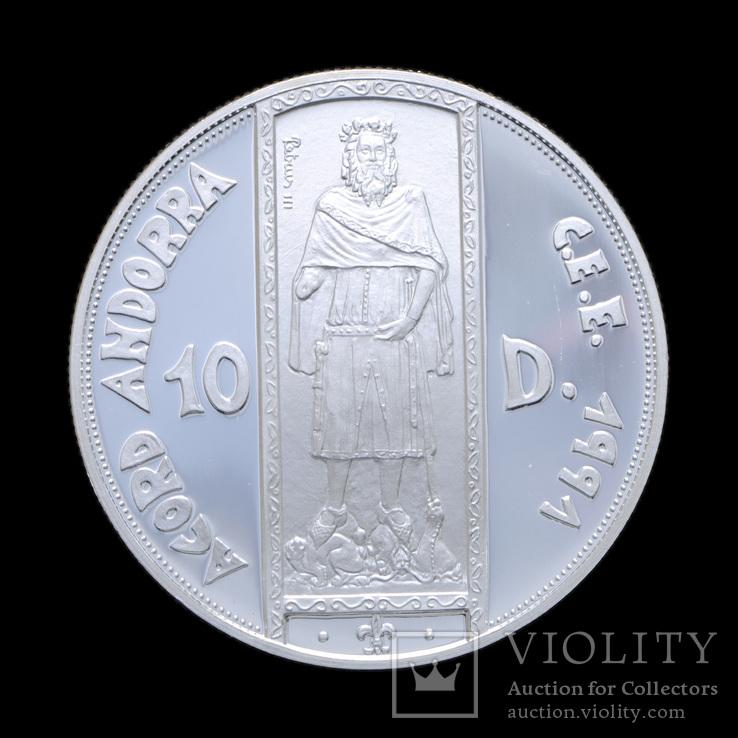 10 Динар 1994 Король, Андорра