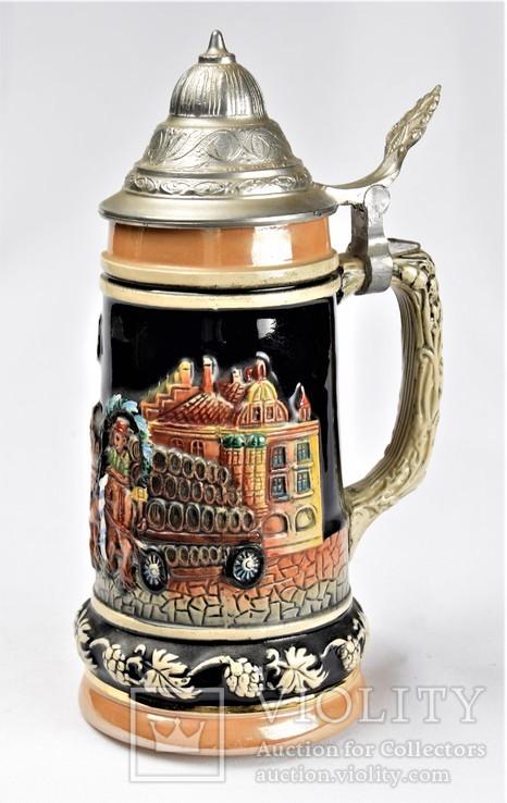Кружка пивная коллекционная Бокал Corzelius W.Germany
