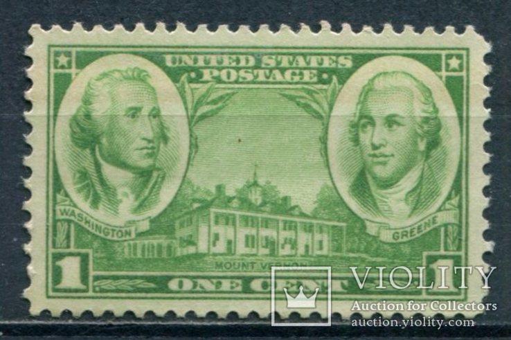США 1936 Основатели армии 1С, фото №2