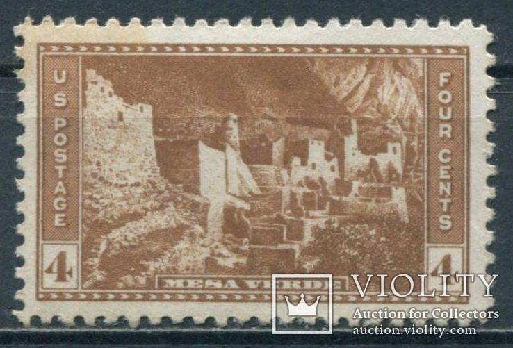 США 1934 Национальные парки 4С, фото №2