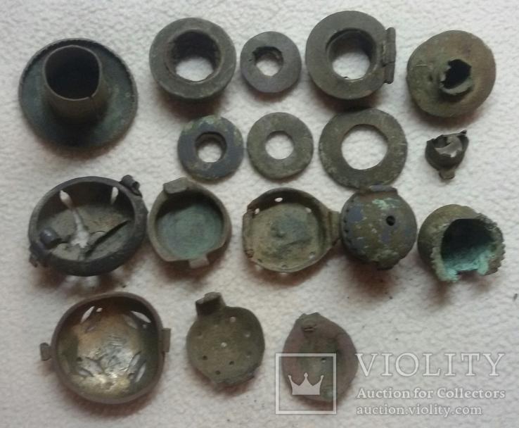Фрагменты курительных трубочек, фото №3