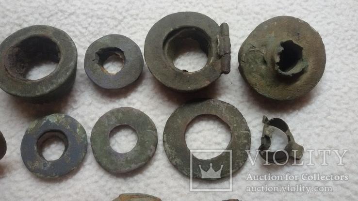 Фрагменты курительных трубочек, фото №5