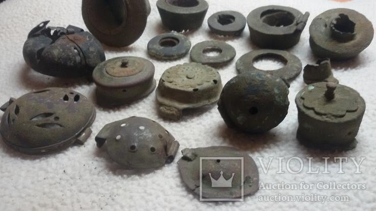 Фрагменты курительных трубочек, фото №8