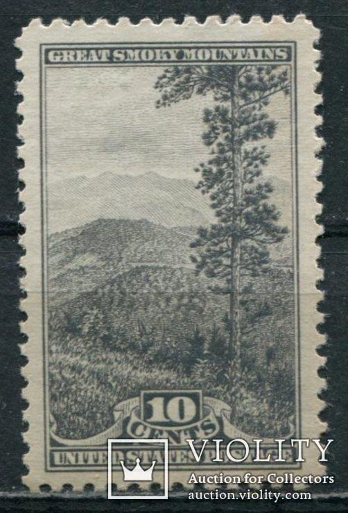 США 1934 Национальные парки 10с