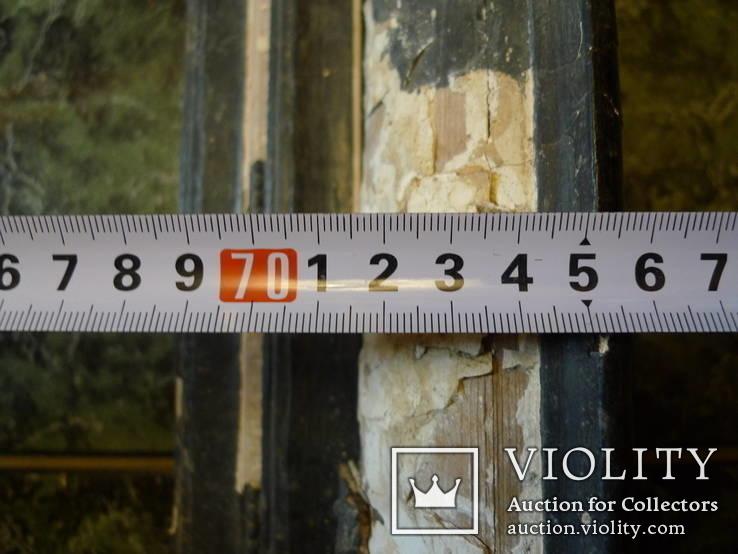 Картинная рама 87Х76 см (старинная на реставрацию), фото №4
