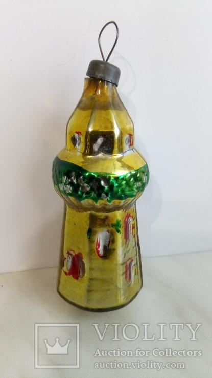 Елочная игрушка башня, фото №2