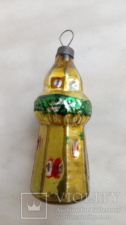 Елочная игрушка башня, фото №6