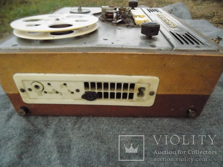 Ламповий магнітофон Gintaras 1960, фото №6
