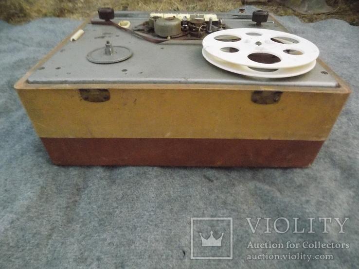 Ламповий магнітофон Gintaras 1960, фото №7