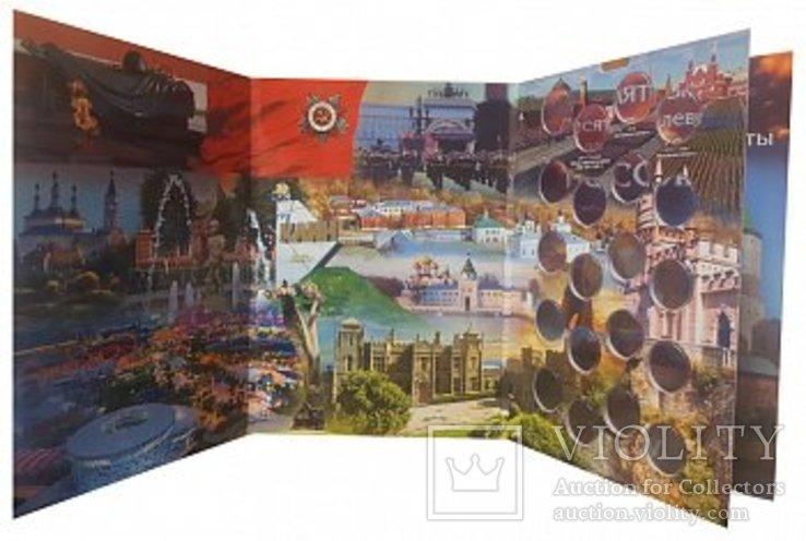 БЛИСТЕРНЫЕ альбомы для 10 рублей БИМЕТАЛЛ - до 2030 года - (комплект 4 ТОМА) - 160 ячеек, фото №9