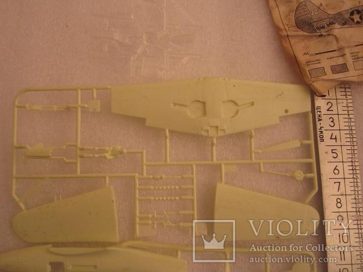 Модель самолета Аэрокобра Р-39 №2 1/72, фото №4