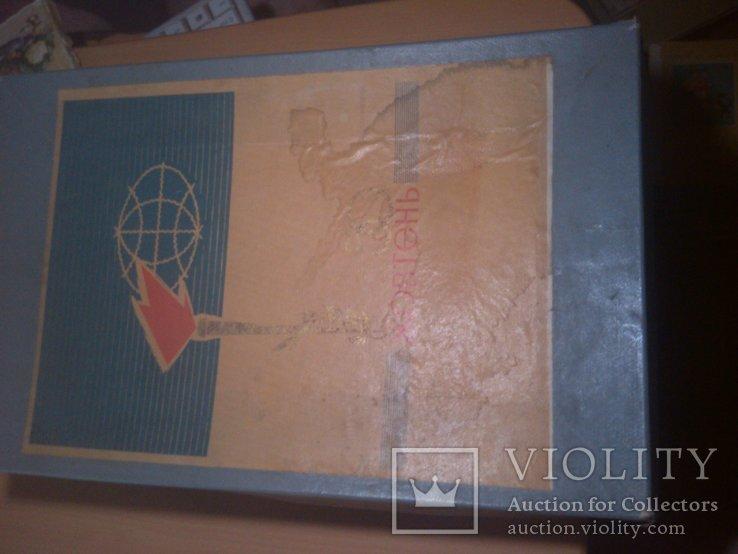 Старая большая коробка Октябрь 50, фото №10