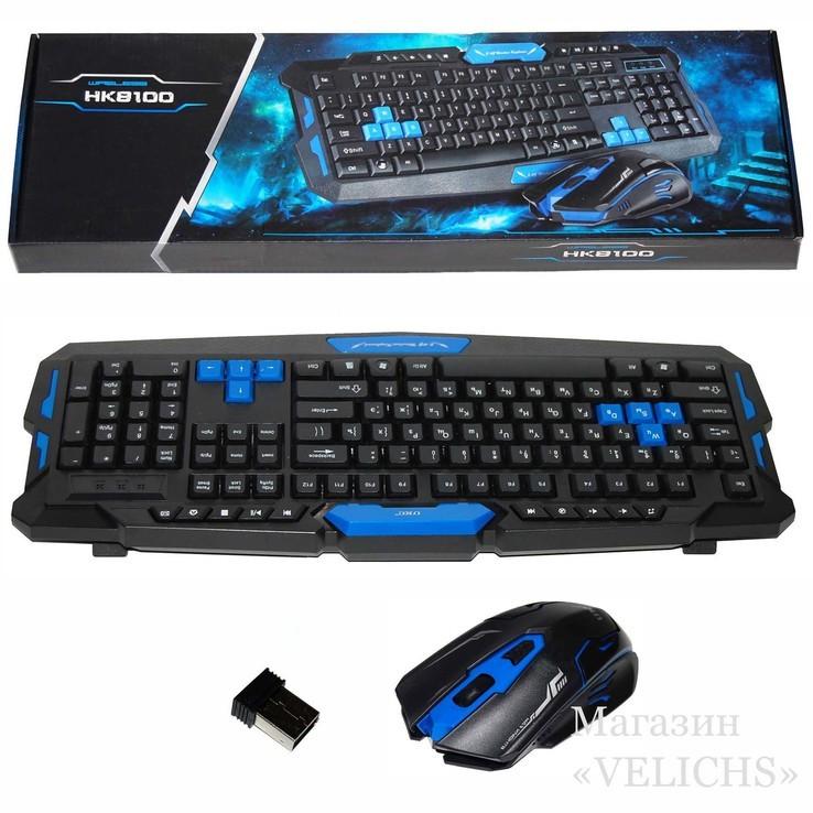 Комплект UKC HK8100 беспроводные клавиатура и мышь