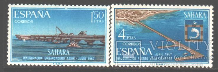 Испанская Сахара. 1967. Портовые сооружения **.