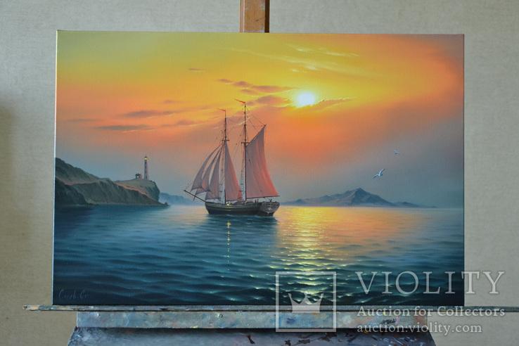 Рассвет в гавани, фото №3